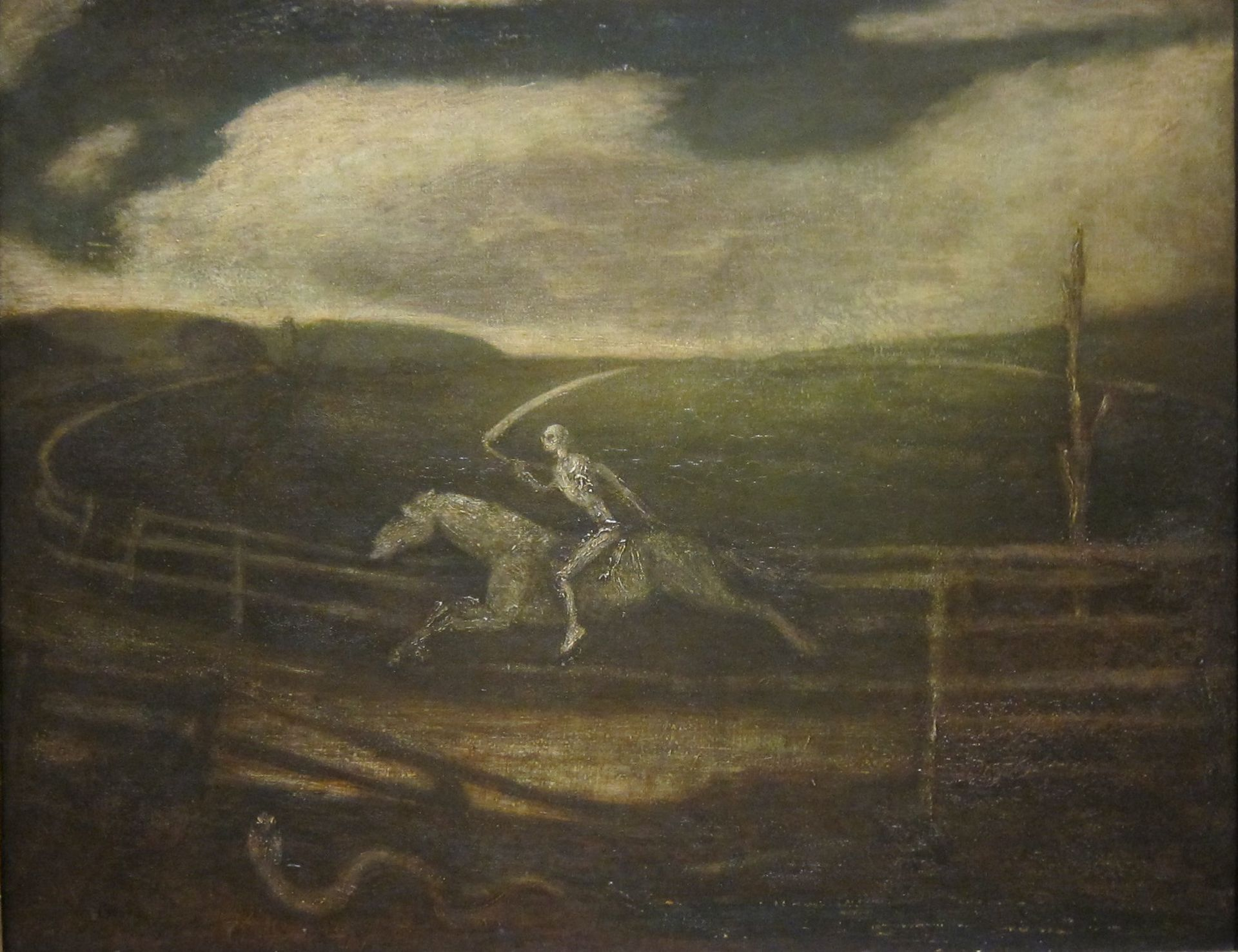 "Albert Pinkham Ryder ""Death on a Pale Horse"""